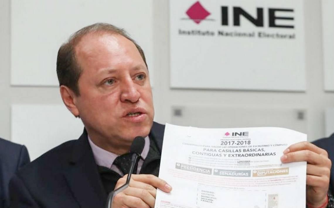 INE prevé participación del  70% en elecciones
