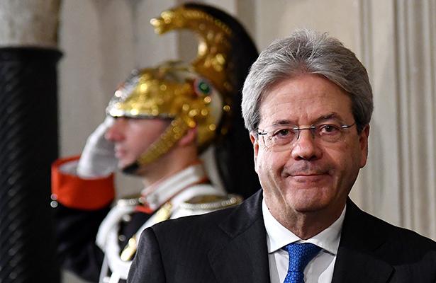 Ex canciller Paolo Gentiloni será el nuevo Primer Ministro de Italia