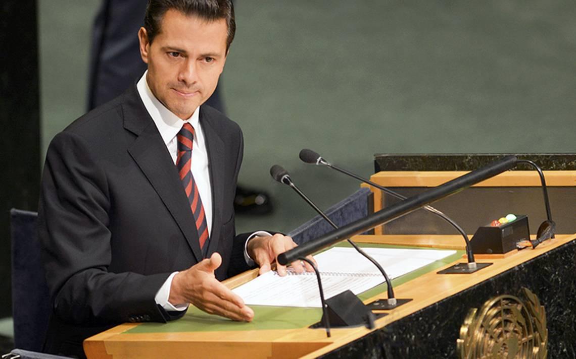 Peña Nieto confirma asistencia en Asamblea General de la ONU