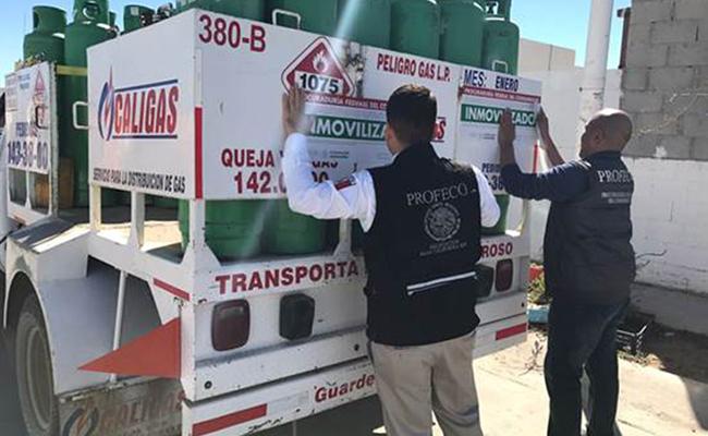 Profeco sanciona a gaseras a nivel nacional por no vender kilos y litros completos