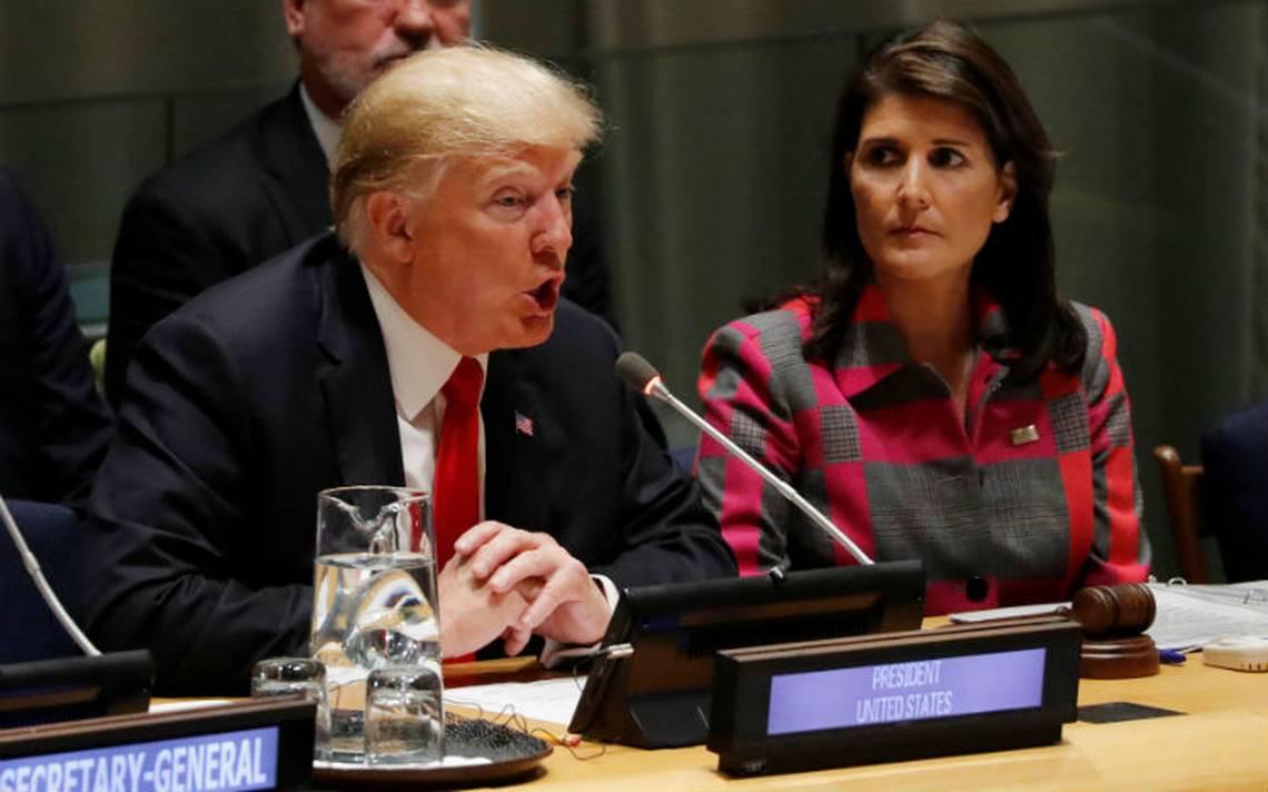 Trump pide en la ONU desmantelar la producción de drogas a nivel global