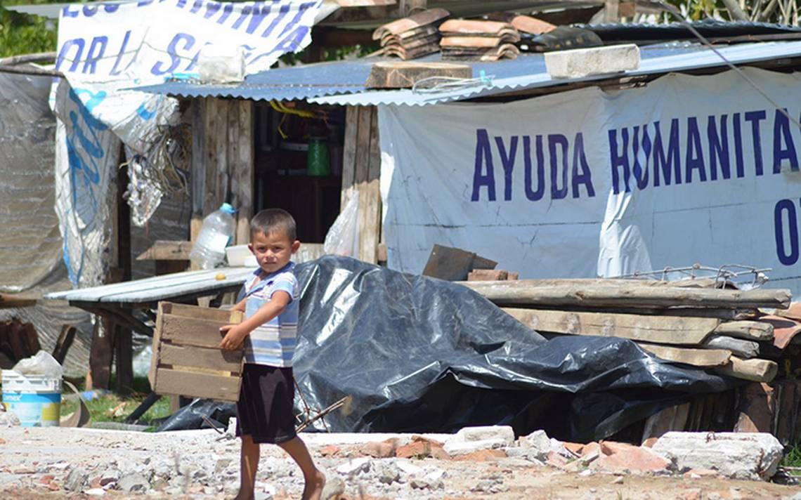 Tonalá sigue a la espera de ayuda para damnificados del sismo