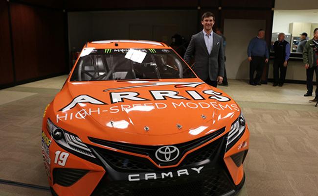 Dany Suárez de estreno en NASCAR CUP