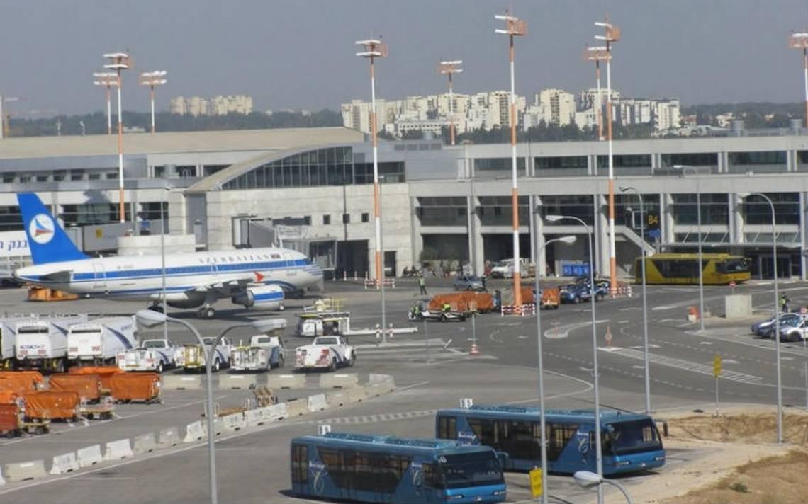Aterriza de emergencia avión con 178 personas en aeropuerto de Israel