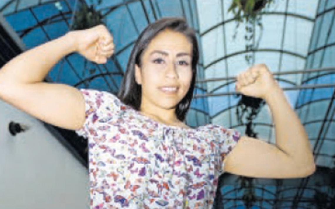 """La """"Guerrerita"""" Torres preparada para defender su título minimosca este sábado"""