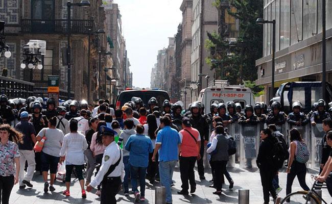 Miércoles de manifestaciones: caos y desesperación en la capital del país