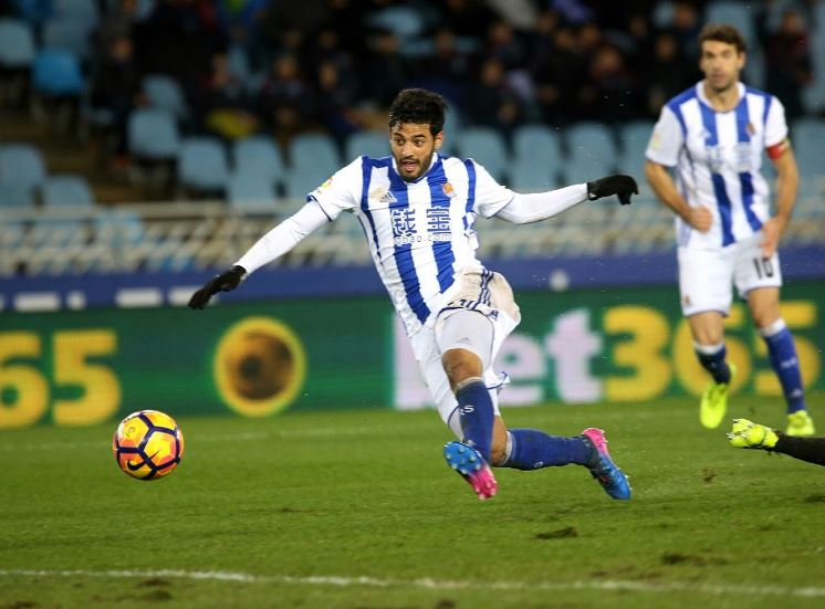 Carlos Vela hace magia en el Anoeta y da triunfo al Real Sociedad