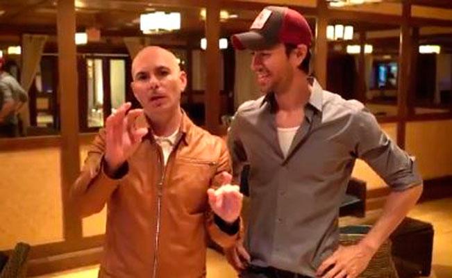 ¡Que comience la fiesta! Enrique Iglesias y Pitbull, de gira por EU