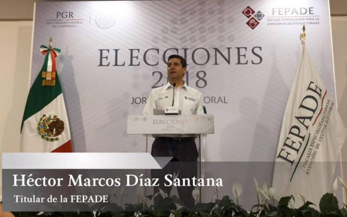 Suman mil 963 denuncias y 27 detenidos por delitos electorales