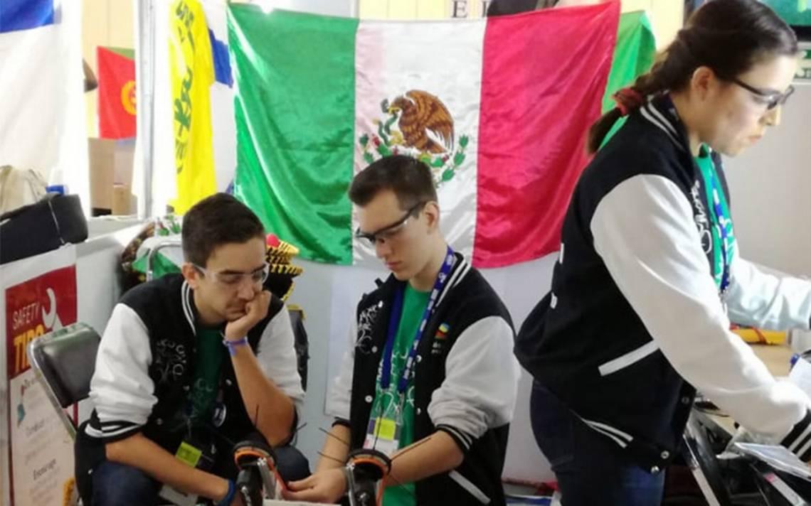México vuelve a triunfar en la segunda jornada del Mundial de Robótica