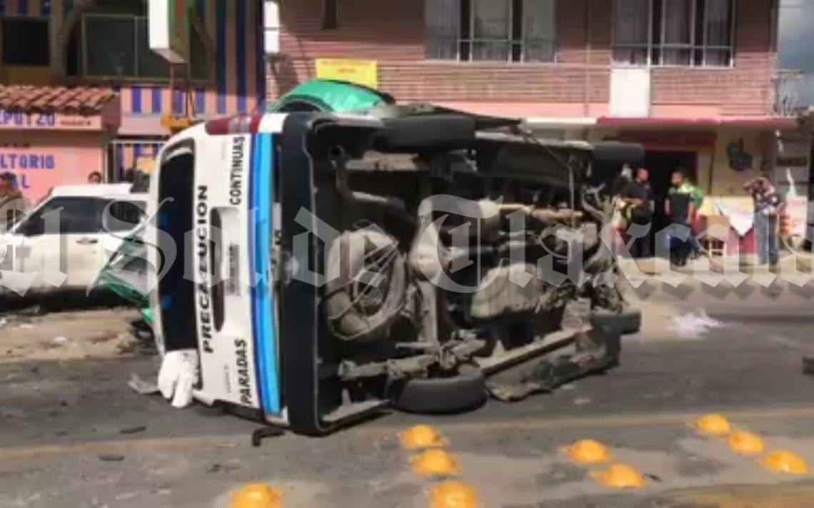 [Video] Chofer de transporte público mata a familia, entre ellos un bebé