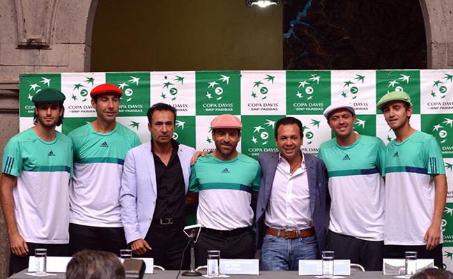 México y Paraguay presentaron escuadras para Copa Davis