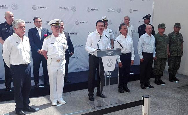 Veracruz contará con mayor respaldo de Policía Federal: Osorio Chong