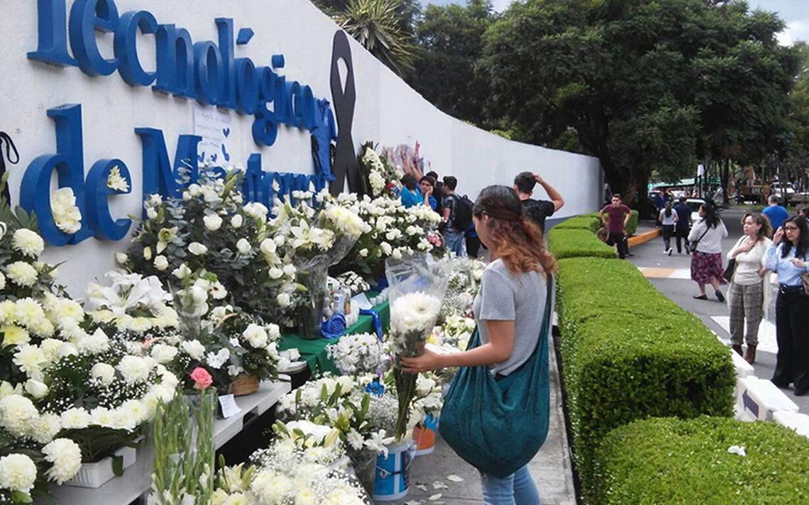 Tec de Monterrey rendirá homenaje a alumnos que murieron en sismo