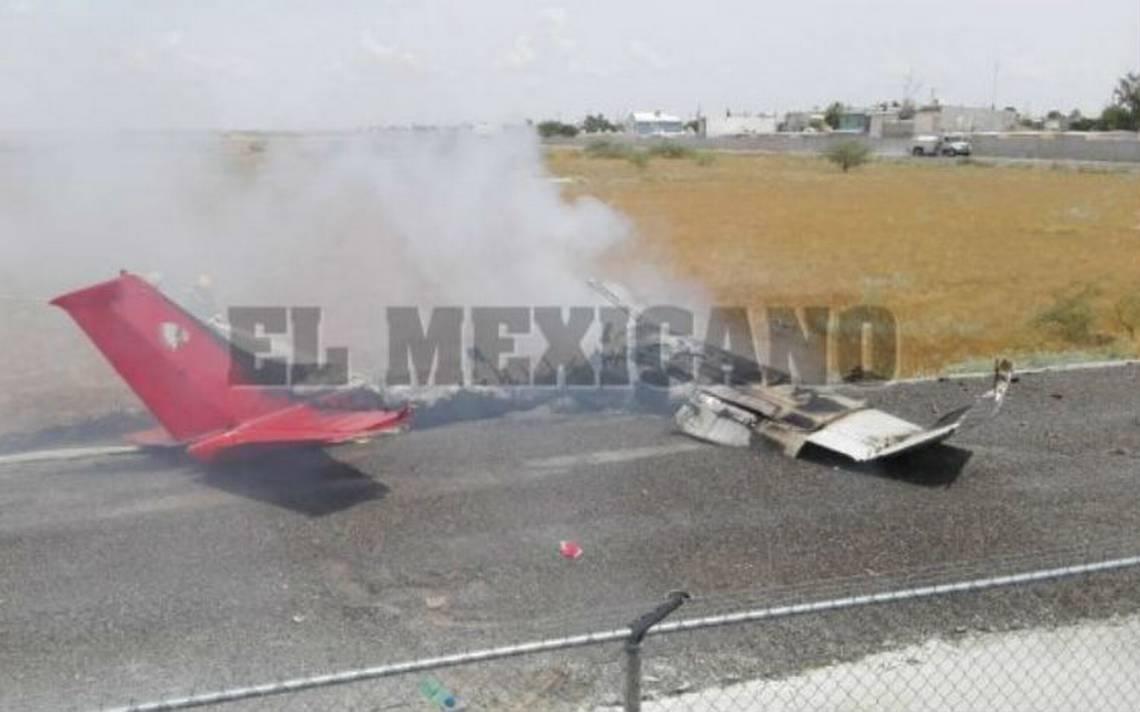 Se desploma avioneta en aeropuerto de Ciudad Juárez