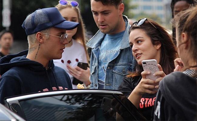 Me enfermas, así le responde Justin Bieber a una fan