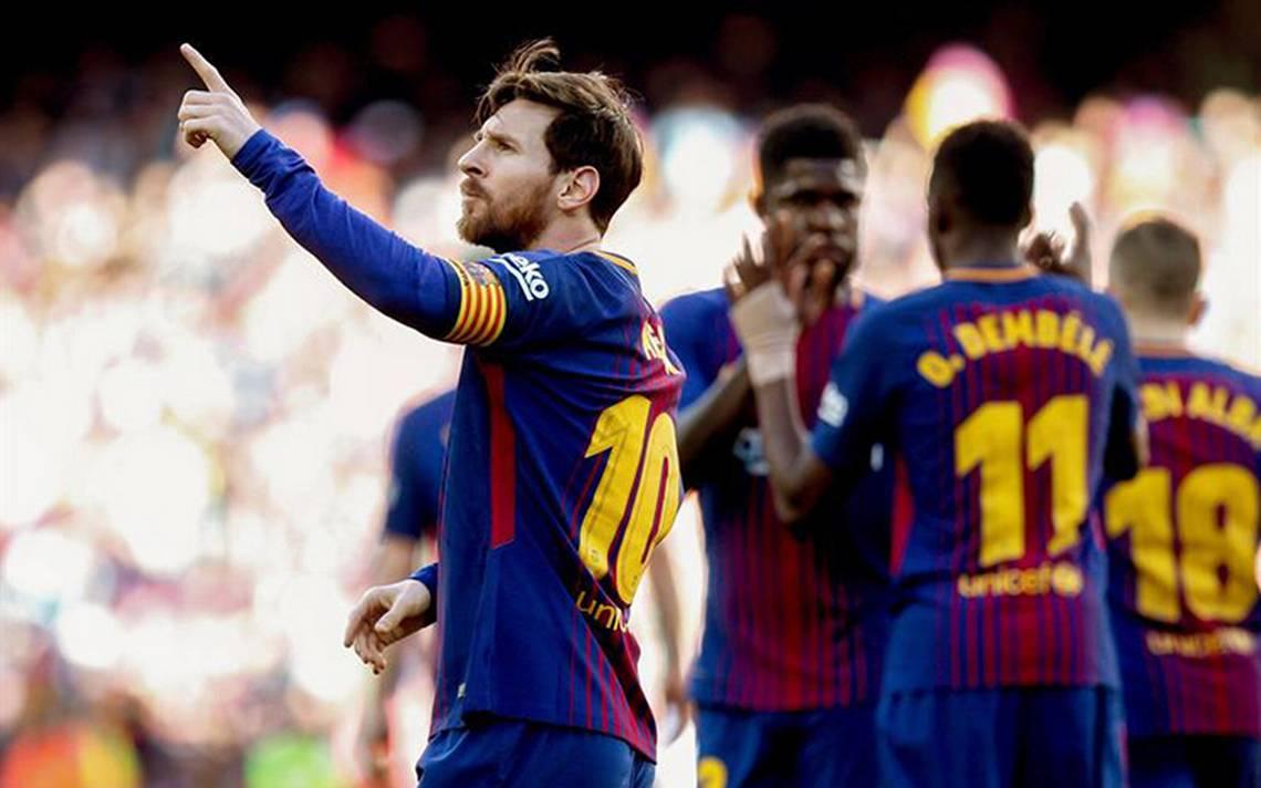 Barcelona acaricia La Liga tras vencer 2-0 al Athletic