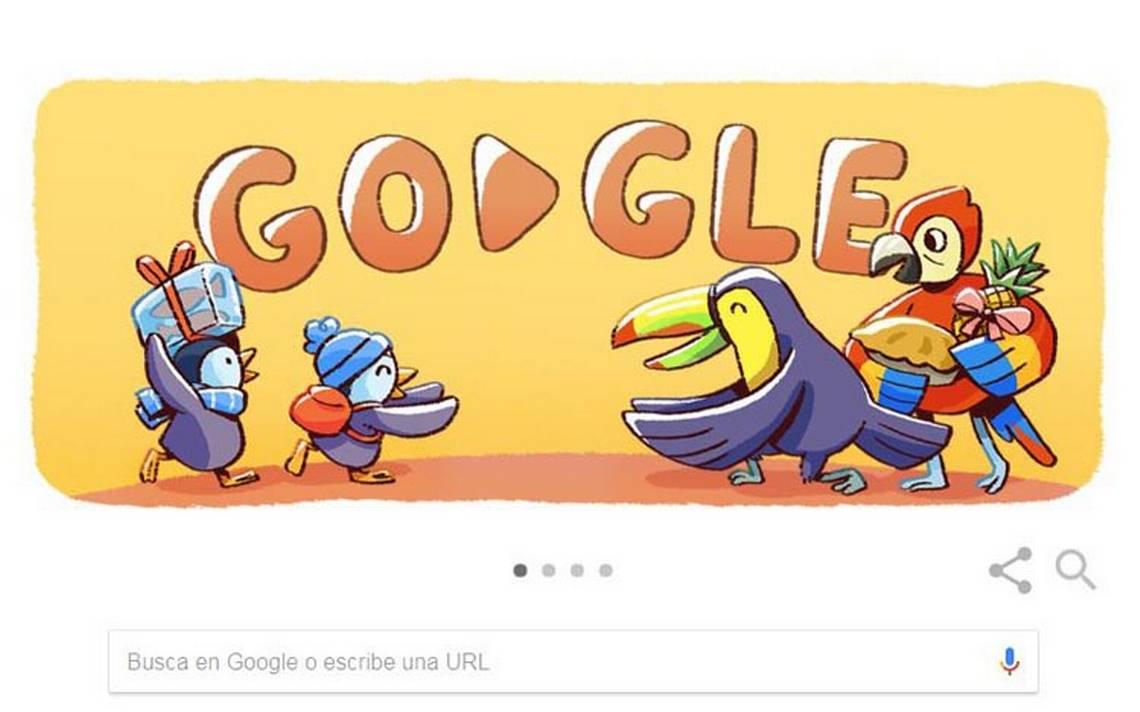 'Navidad, Navidad, blanca Navidad'… Google celebra con emotivo doodle de pingüinos