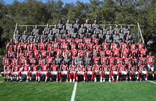 Los Halcones de Atlanta se tomaron la foto oficial