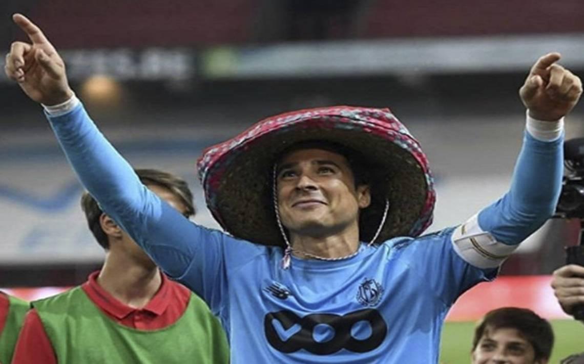 Ya hay fecha de presentación de Ochoa con Napoli