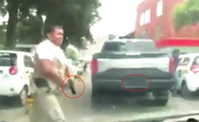 [Video] Escolta dispara durante pelea en Metepec