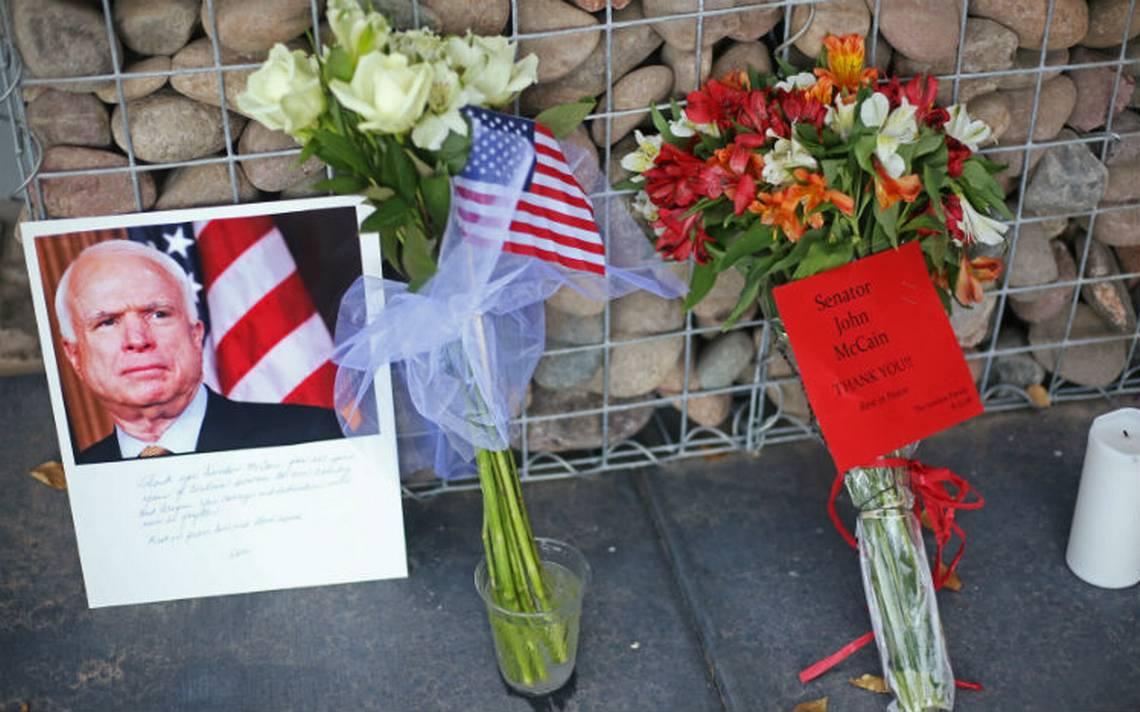 Funeral de John McCain será el sábado en Washington