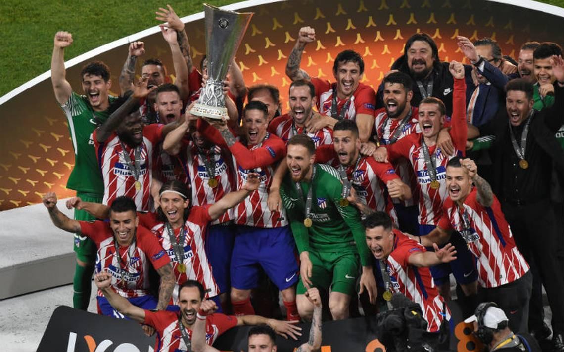 Atlético de Madrid se corona en la Europa League