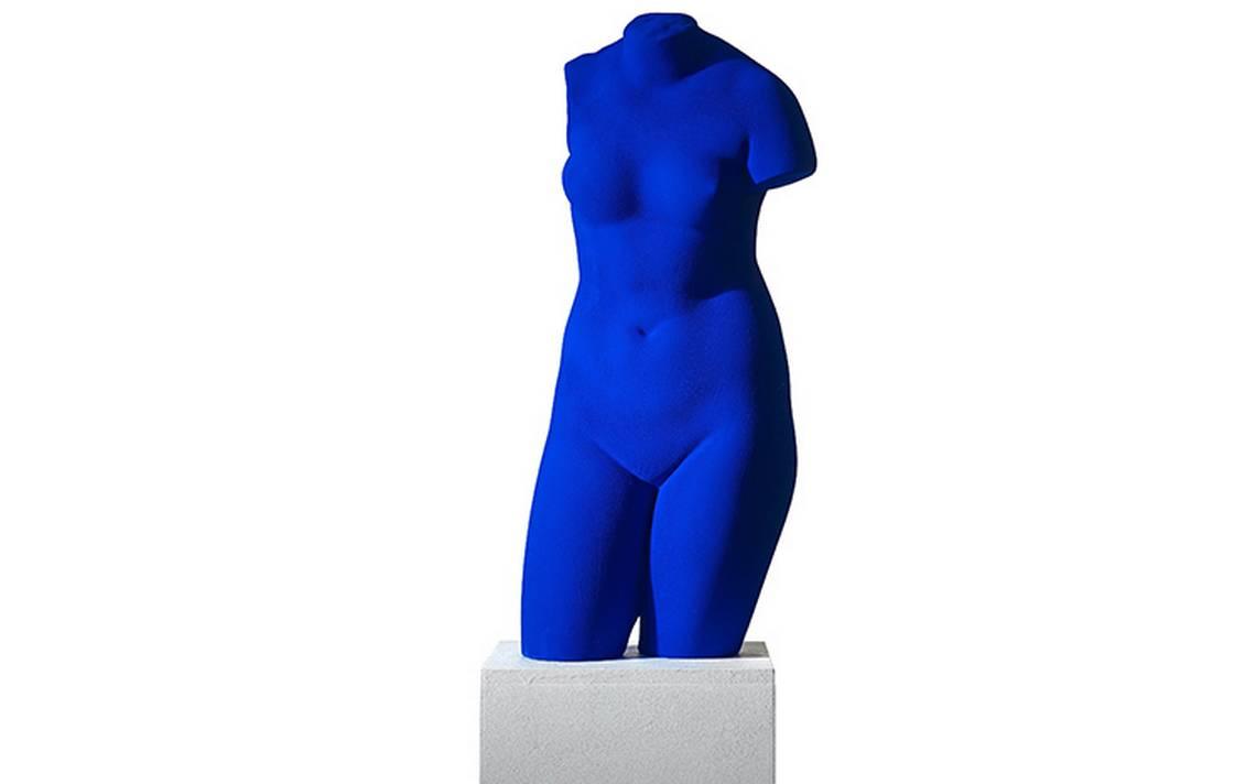 Presentan la obra de Yvis Klein en el MUAC