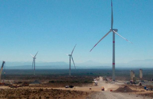 Parque Eólica de Coahuila iniciará operación comercial