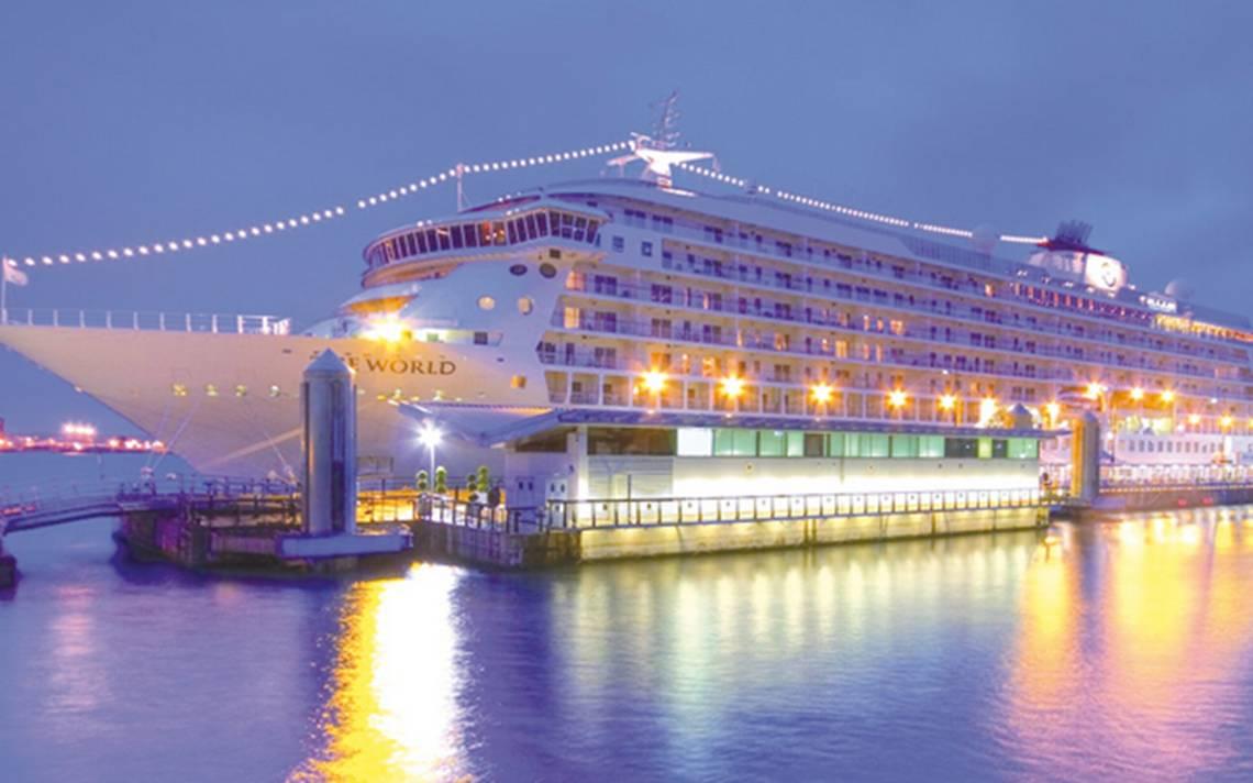 Listos en Los Cabos para recibir al lujoso crucero The World