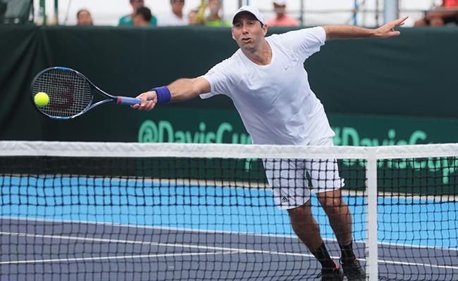 Regresa Santy a la Copa Davis