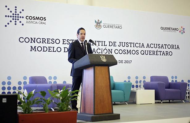 Celebran Congreso Estudiantil de Justicia Acusatoria en Querétaro