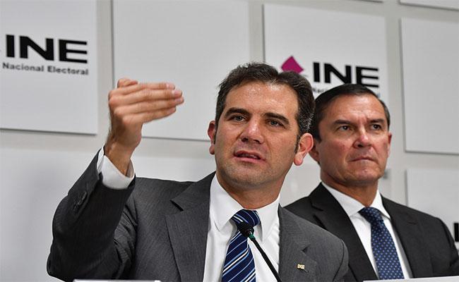 Candidatos y partidos deben actuar con responsabilidad: INE