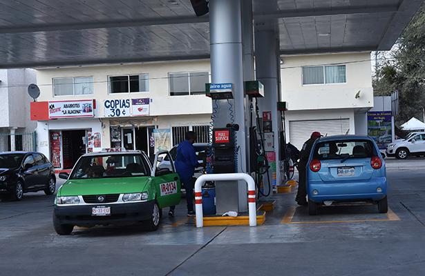 Reportan escasez de gasolina en Irapuato