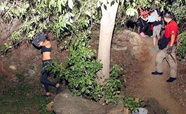 Rescatan a menores de edad extraviados en cerro El Chupón