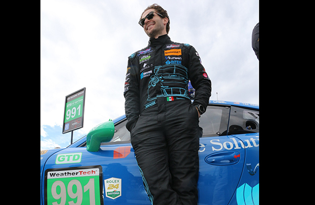 Santiago Creel, décimo en las 24 Horas de Daytona