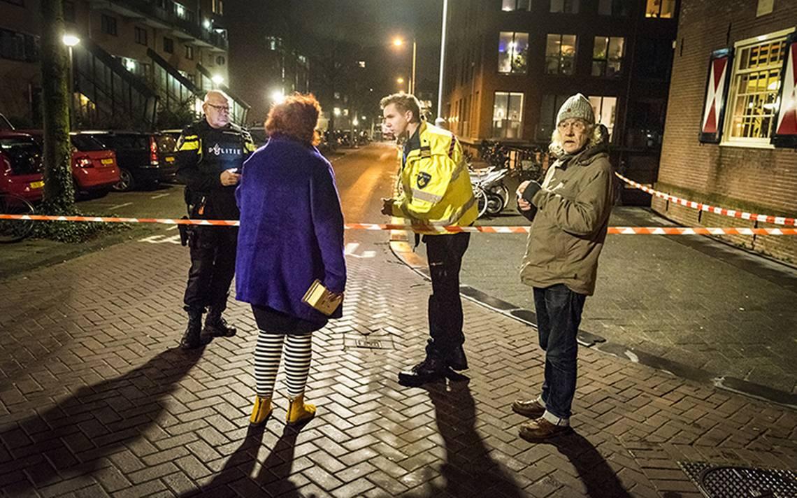 Descartan acto terrorista en tiroteo en Amsterdam que dejó un muerto
