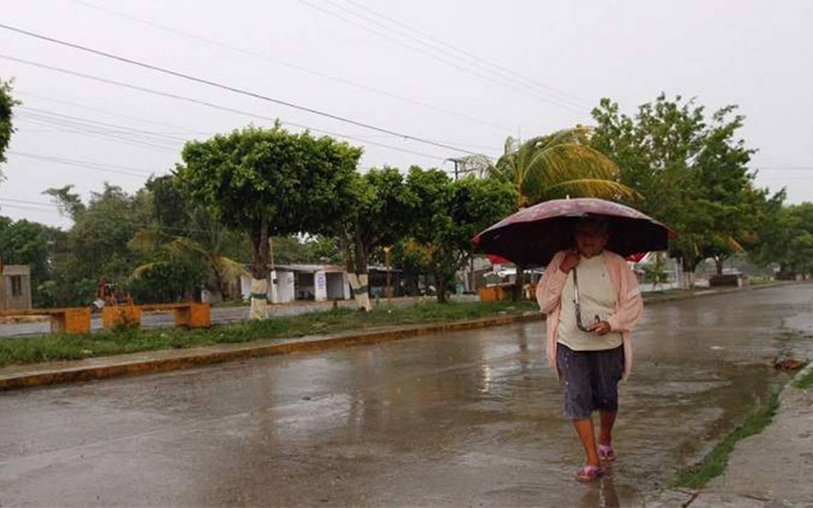 Habrá lluvias y tormentas eléctricas en siete estados en próximas horas