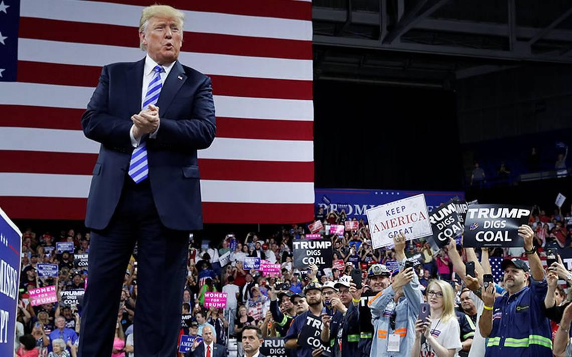 Debacle en mercados si abren juicio político, advierte Trump