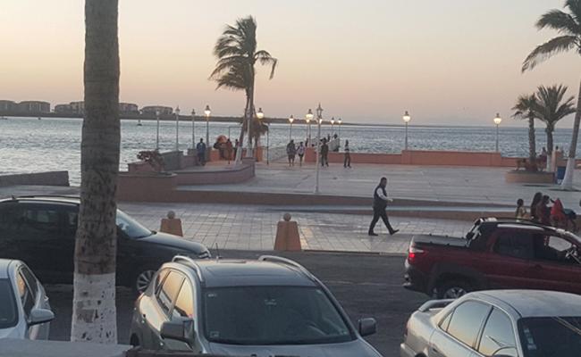 Visita el restaurado Muelle de la Reyna en el malecón de La Paz