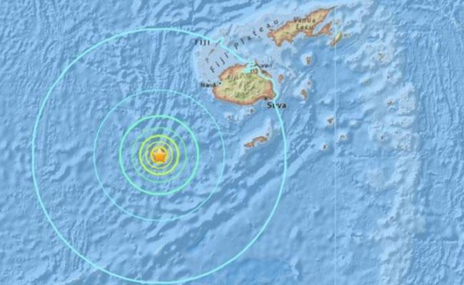 Sismo de magnitud 7.2 en Fiyi no generará tsunami en Chile