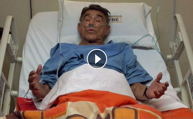 #Video Héctor Suárez se accidenta y cancela show en Sonora
