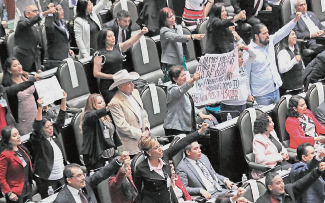 Congreso abre sesiones y Morena hace sentir su mayoría