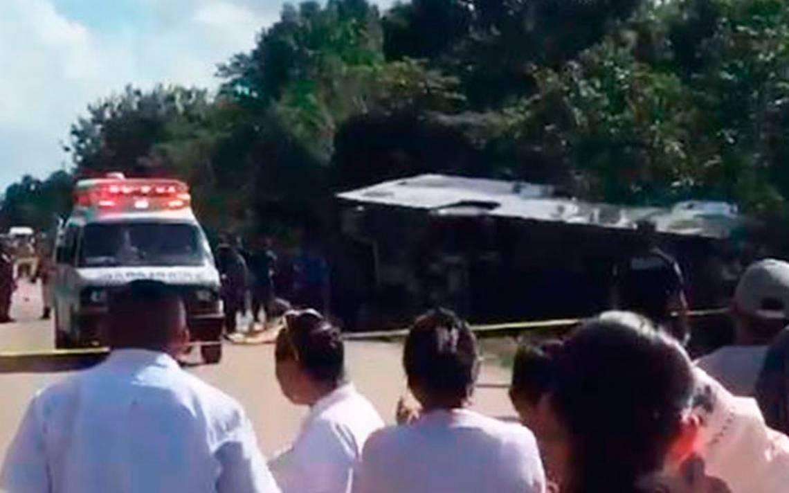 Hay ciudadanos de EU entre víctimas de accidente en Quintana Roo: Washington
