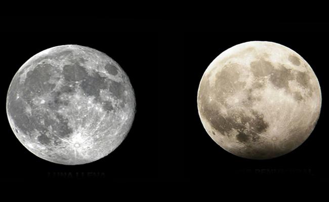Luna llena, cometa y un eclipse ¡todo un espectáculo para este viernes!