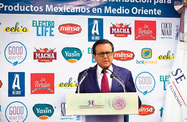 México diversifica mercado con Medio Oriente, destaca la Secretaría de Economía