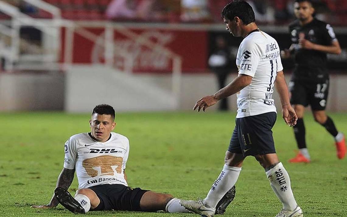 ¡Rayos! Los Pumas caen ante Necaxa en la Copa