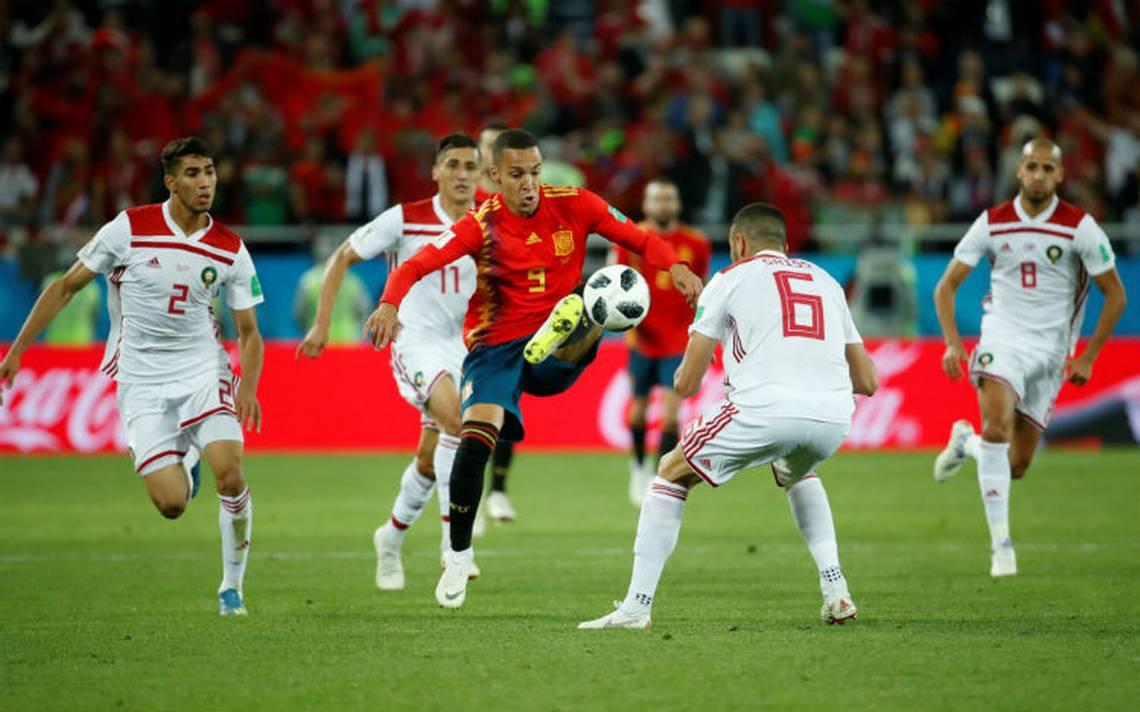 En final dramático, España empata con Marruecos y enfrentará a Rusia