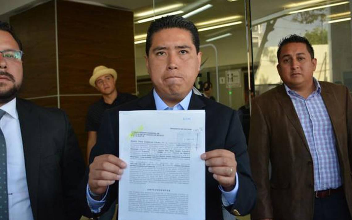 Marco Polo Caballero presenta denuncia por supuesto desvío de recursos en Tláhuac