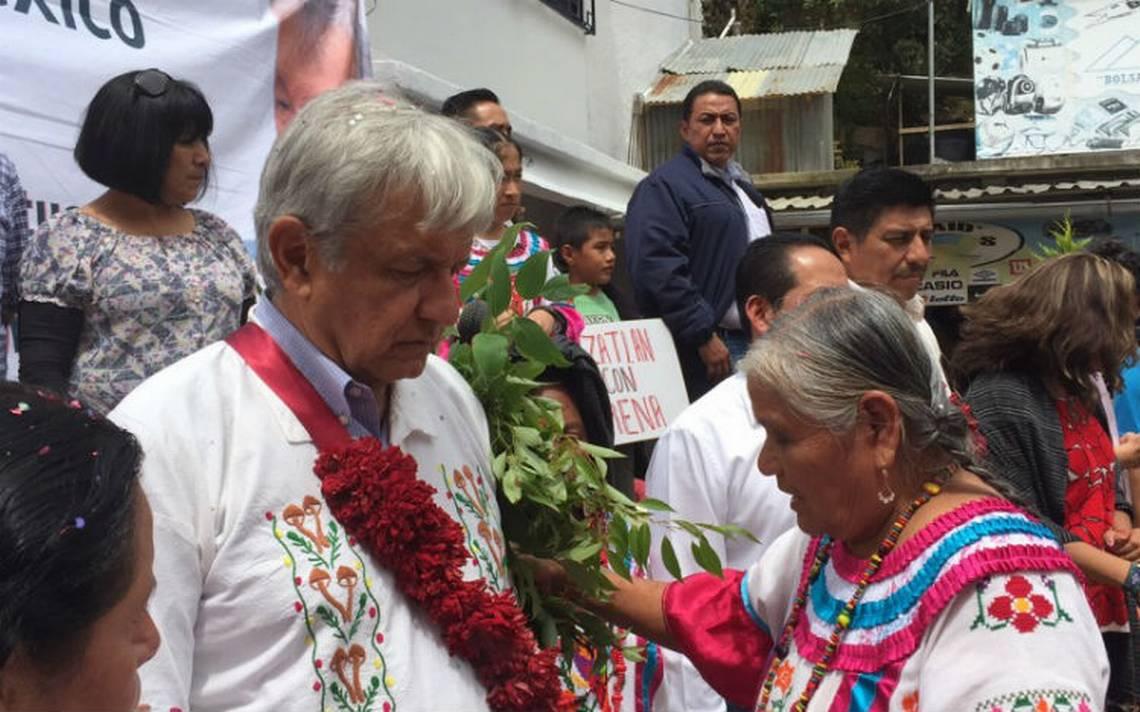 A ver si con una limpia López Obrador llega a la Presidencia